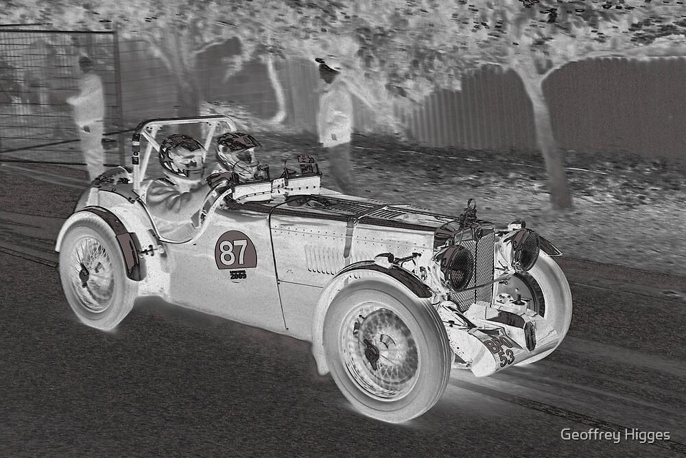 MG TC 1946 by Geoffrey Higges