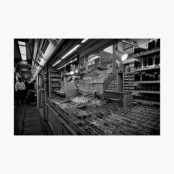 Pick a Part - Akihabara Electric Town - Japan Photographic Print