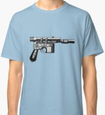 Han Solo's Blaster Stencil Classic T-Shirt