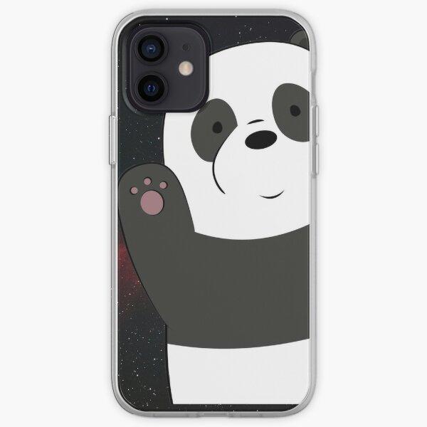 Panda Escandalosos Funda blanda para iPhone