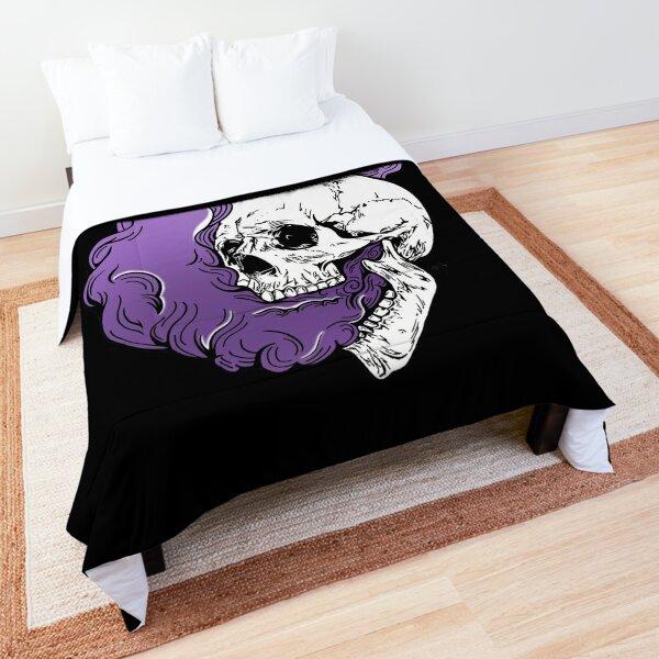 Purple Smoke Comforter