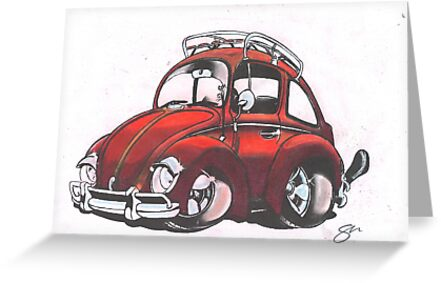 Cheeky Beetle by Sharon Poulton