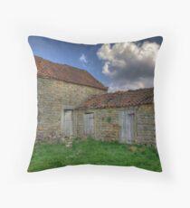 Old Barn - Lastingham Throw Pillow