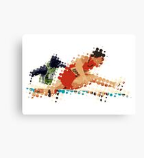 2012 Olympics Hurdles Leinwanddruck