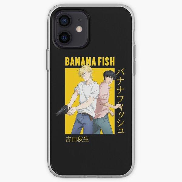 Banana Fish Ash Lynx Eiji Okumura Card Anime Coque souple iPhone