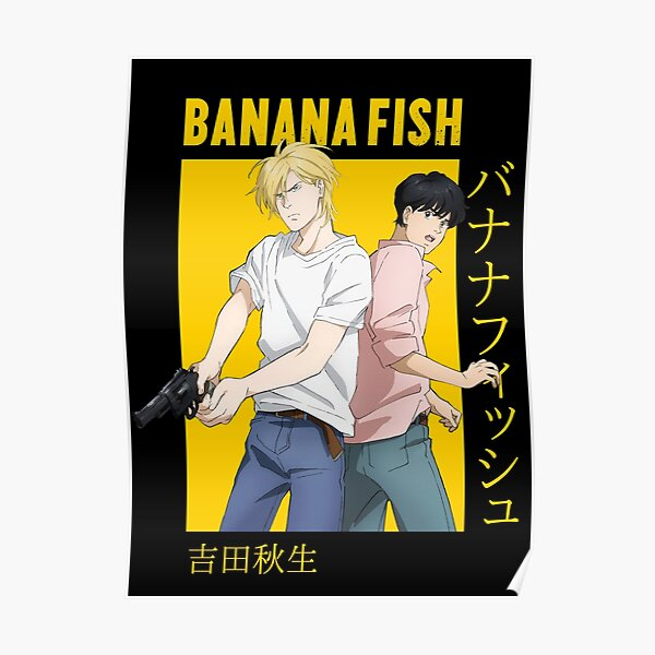 Banana Fish Ash Lynx Eiji Okumura Card Anime Póster