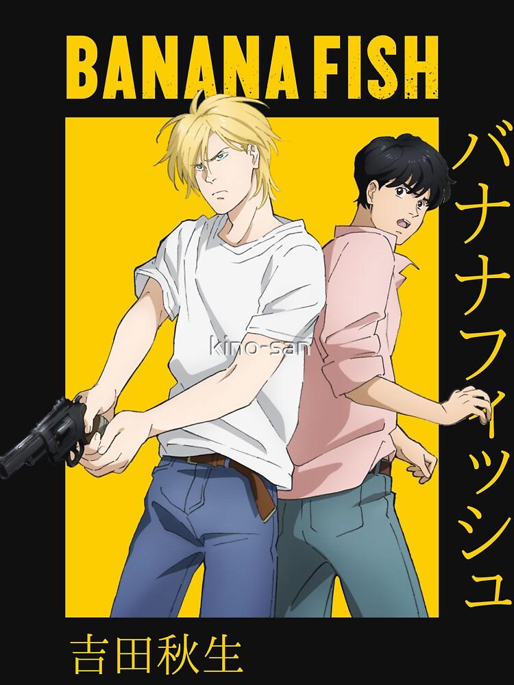 Banana Fish Ash Lynx Eiji Okumura Card Anime by kino-san