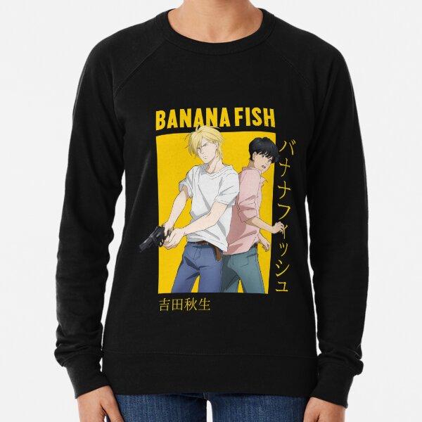 Banana Fish Ash Lynx Eiji Okumura Card Anime Lightweight Sweatshirt
