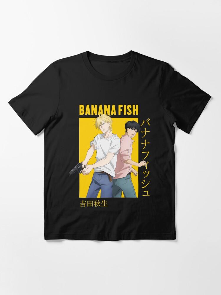 Alternate view of Banana Fish Ash Lynx Eiji Okumura Card Anime Essential T-Shirt