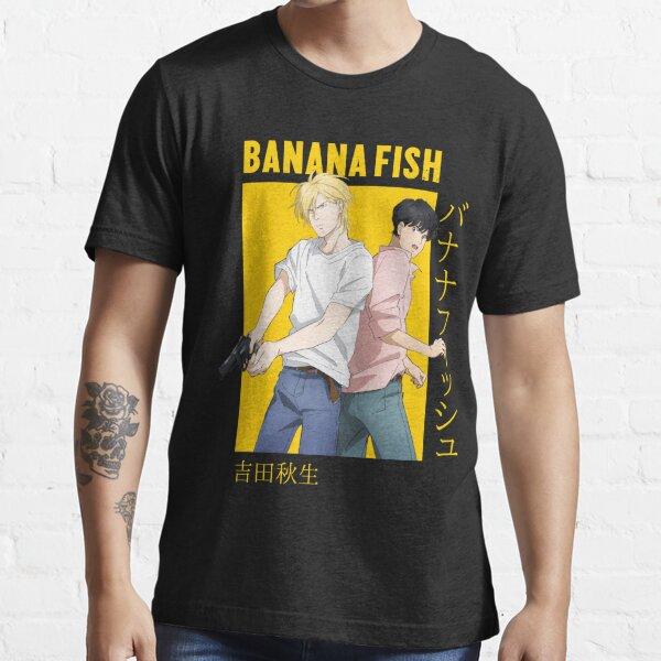 Banana Fish Ash Lynx Eiji Okumura Card Anime T-shirt essentiel