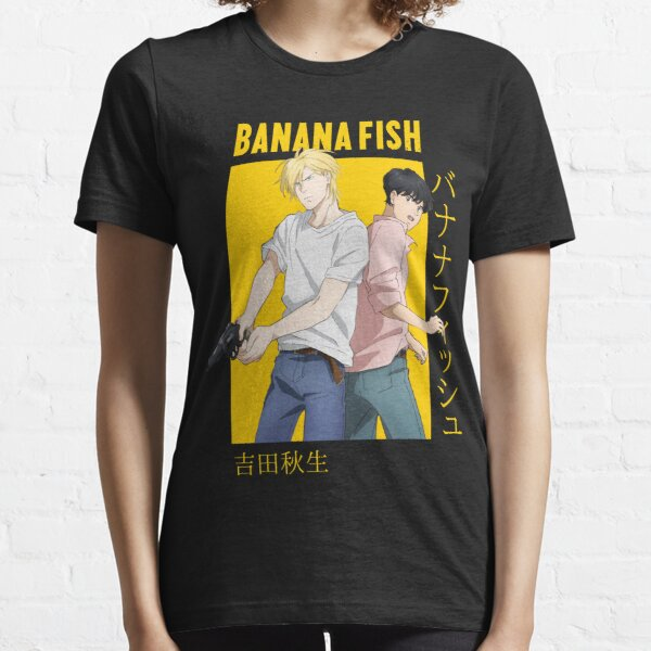 Banana Fish Ash Lynx Eiji Okumura Card Anime Camiseta esencial