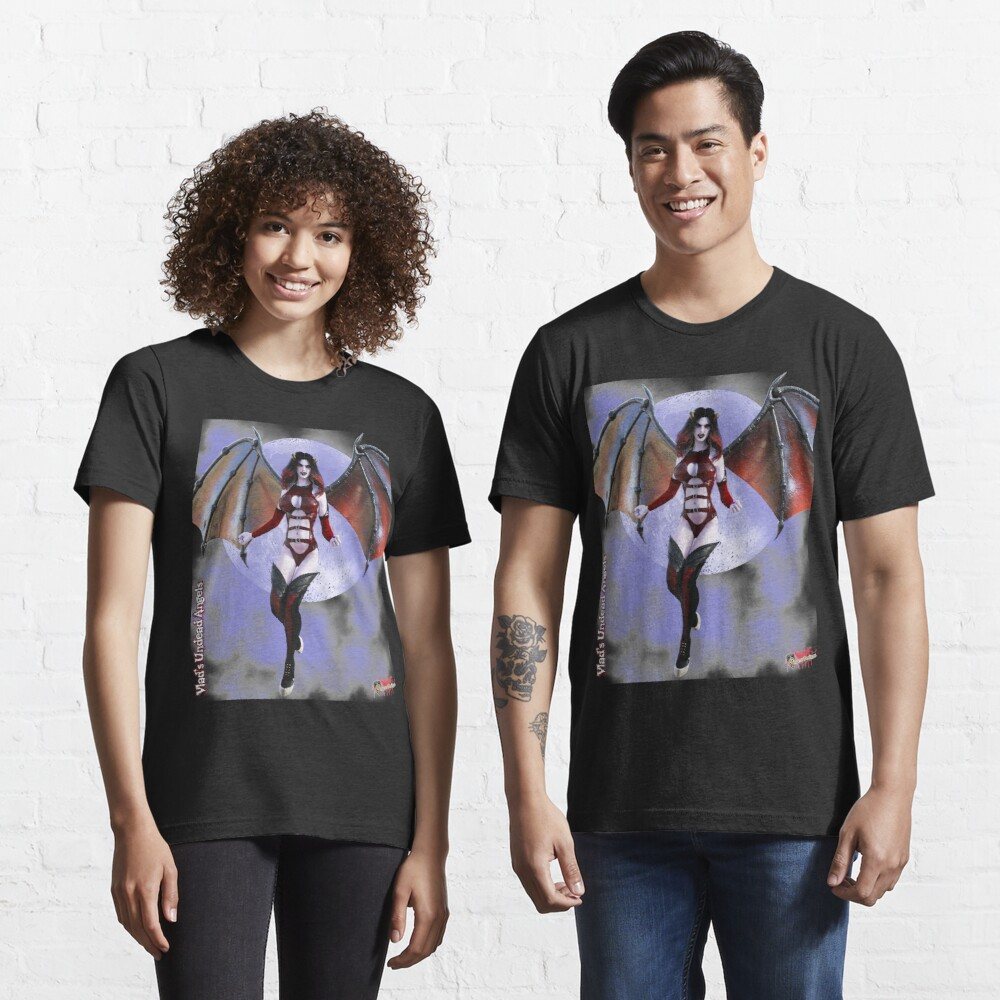 Undead Angels By Moonlight: Vampiress Eve Essential T-Shirt