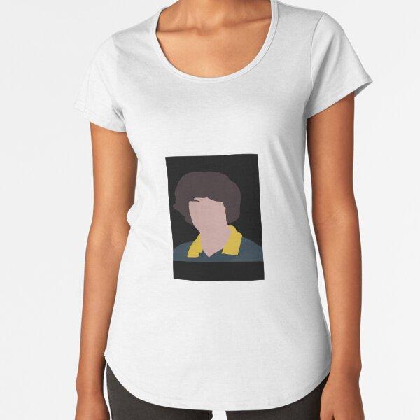 finn wolfhard Camiseta premium de cuello ancho