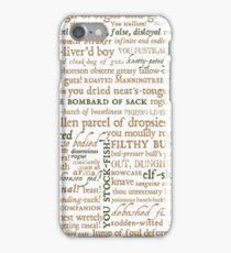 Shakespeare's Insults Collection - Revised Edition (by incognita) iPhone Case/Skin