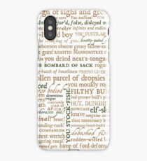 Shakespeare's Insults Collection - Revised Edition (by incognita) iPhone Case