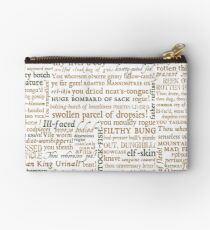 Shakespeare's Insults Collection - Revised Edition (by incognita) Studio Pouch