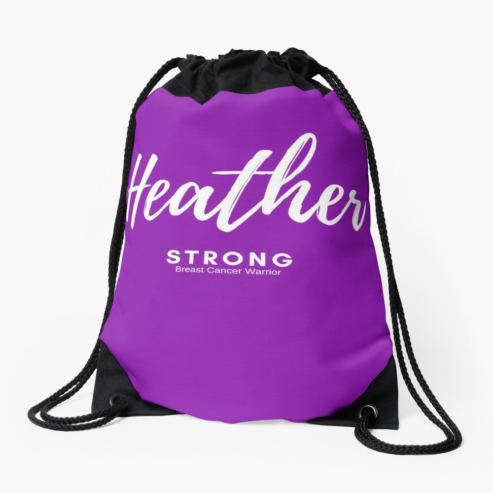 Heather Strong - Light Version Drawstring Bag