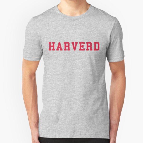 HARVERD (red letters) Slim Fit T-Shirt