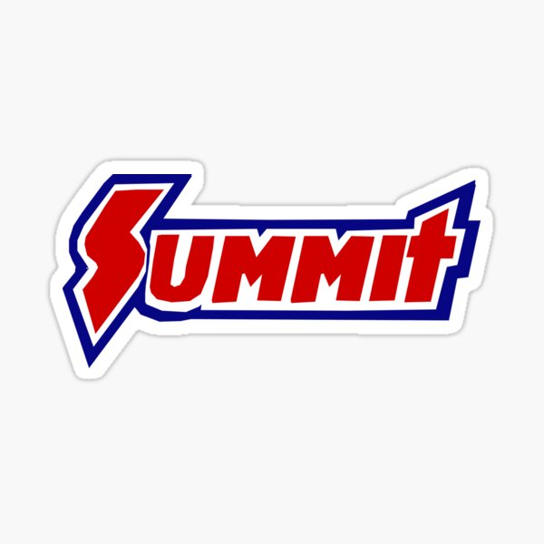 SUMMIT RACING LOGO  Sticker