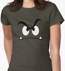Goomba Face Tee Womens Fitted T-Shirt