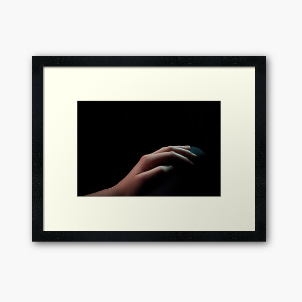 Your Hand Framed Art Print