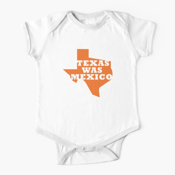 Texas Was Mexico Short Sleeve Baby One-Piece