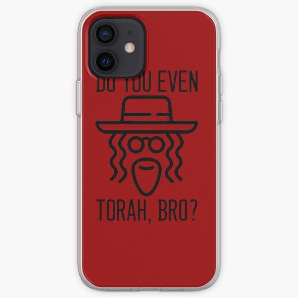 Do You Even Torah, Bro? - Black iPhone Soft Case