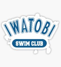 Iwatobi Swim Club Free! Anime Cosplay Japan T Shirt Sticker