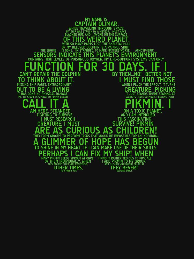Pikmin Typography | Unisex T-Shirt