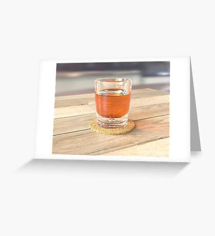 Glass Study Greeting Card