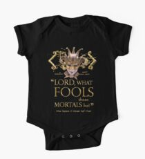 Shakespeare Midsummer Night's Dream Fools Quote One Piece - Short Sleeve