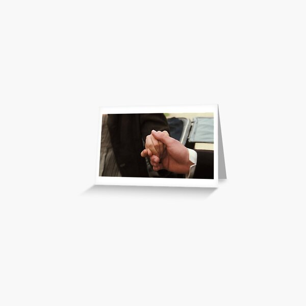 The Hand Scene in Pride and Prejudice Greeting Card