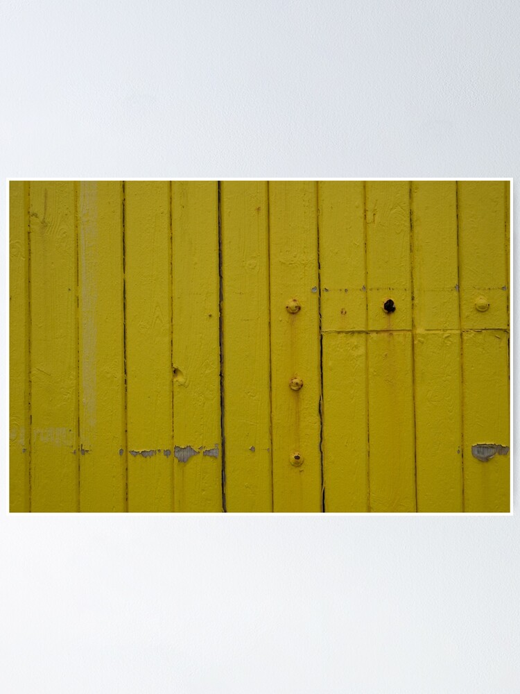 Alternate view of Yellow again Poster