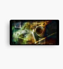 Camera Halina 35x Canvas Print