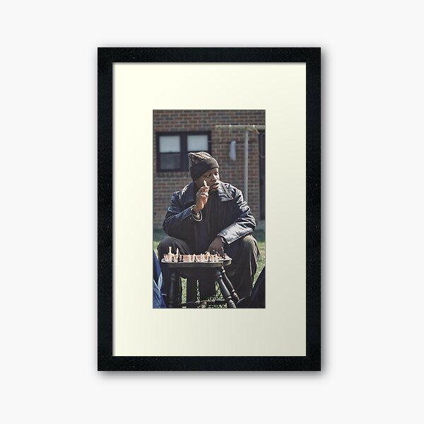 The Wire - By Angelo Barksdale Framed Art Print