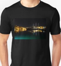 Reflecting on Malta - Vittoriosa and Senglea Megayachts T-Shirt