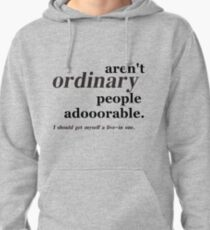 ordinary people Pullover Hoodie