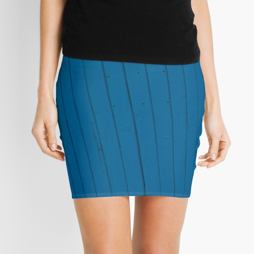 Blue splash Mini Skirt