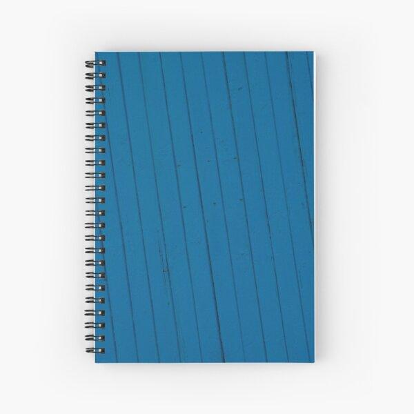 Blue splash Spiral Notebook