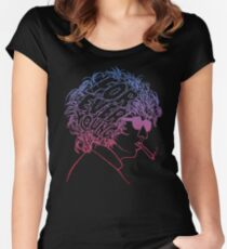 Bob Dylan Forever Young Women's Fitted Scoop T-Shirt