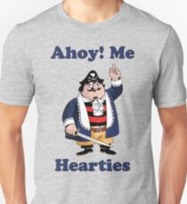 Pirate Pugwash - Ahoy Me Hearties Unisex T-Shirt