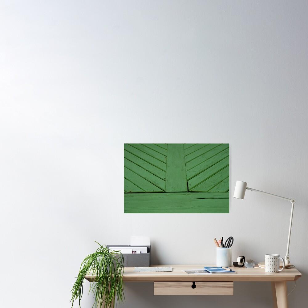 Green splash Poster