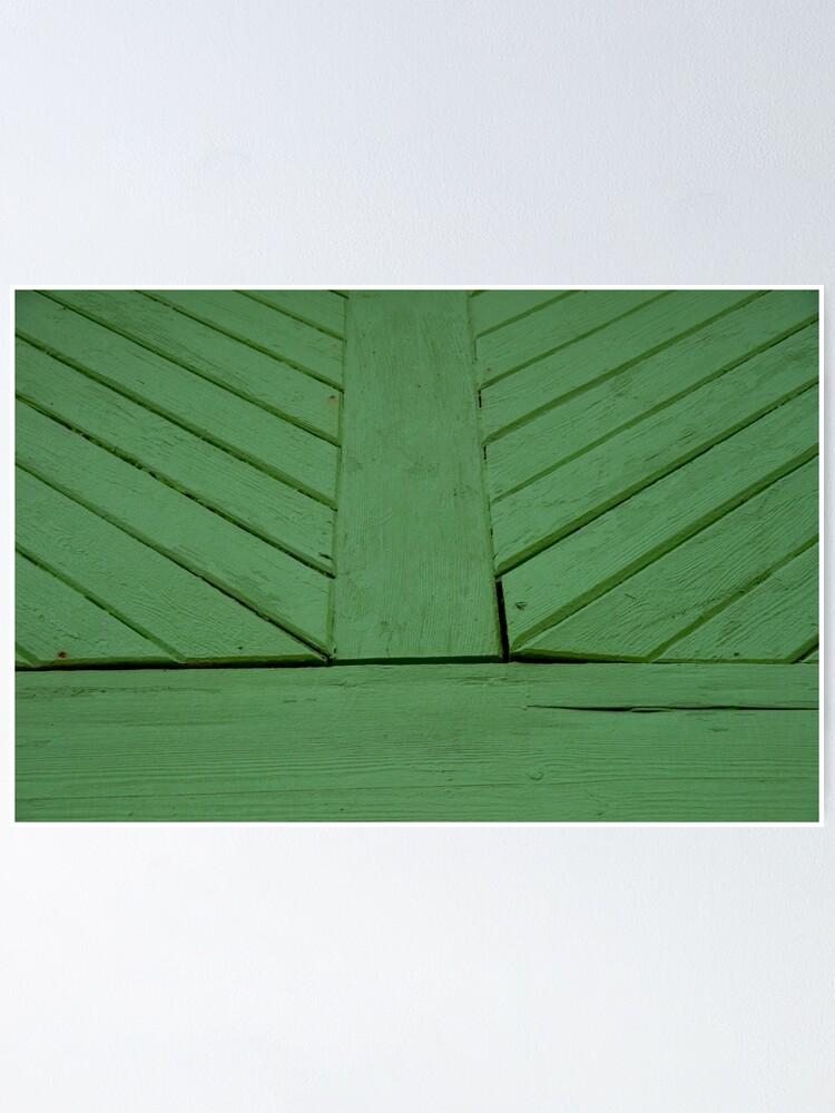 Alternate view of Green splash Poster
