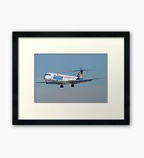 N863GA Allegiant Air McDonnell Douglas DC-9-83 Framed Print
