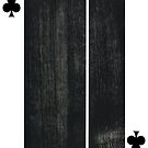 American Expressinism-2 of Clubs by Peter Simpson