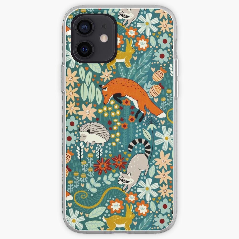 Textured Woodland Pattern  iPhone Case & Cover