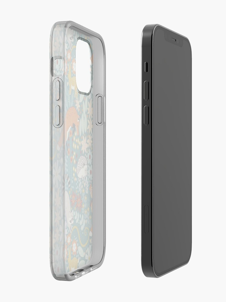 Alternate view of Textured Woodland Pattern  iPhone Case & Cover