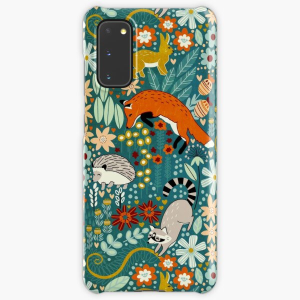 Textured Woodland Pattern  Samsung Galaxy Snap Case