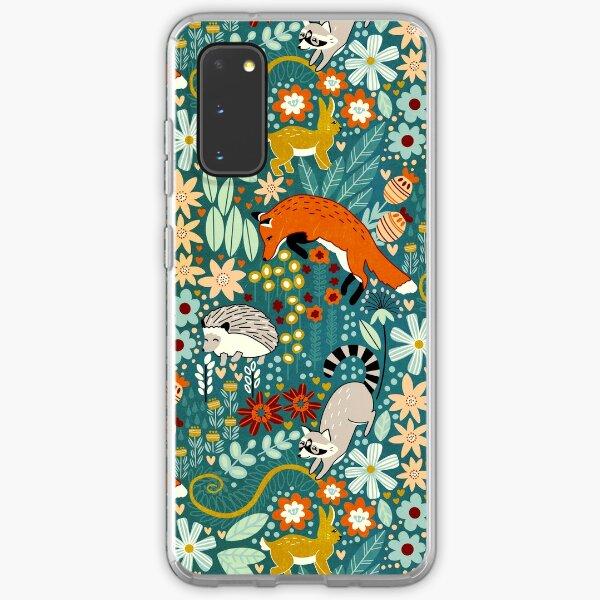Textured Woodland Pattern  Samsung Galaxy Soft Case
