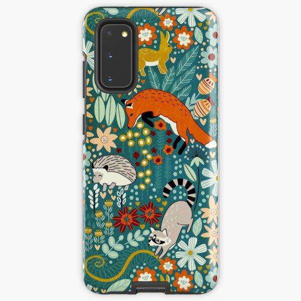 Textured Woodland Pattern  Samsung Galaxy Tough Case